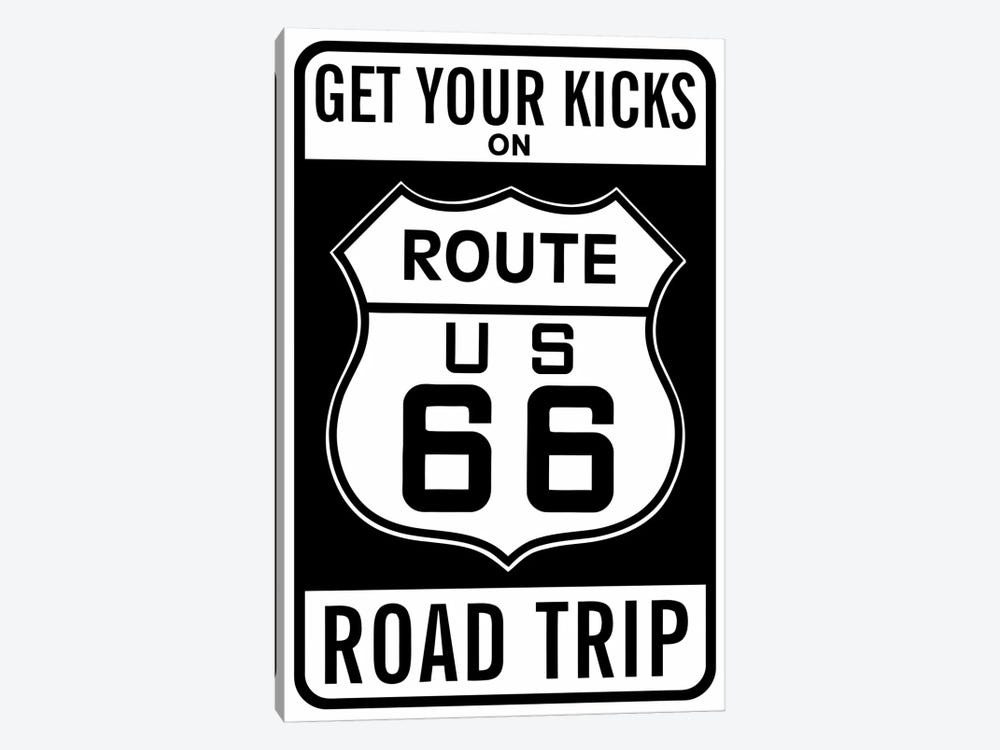 Route 66 by Vintage Apple Collection 1-piece Canvas Print