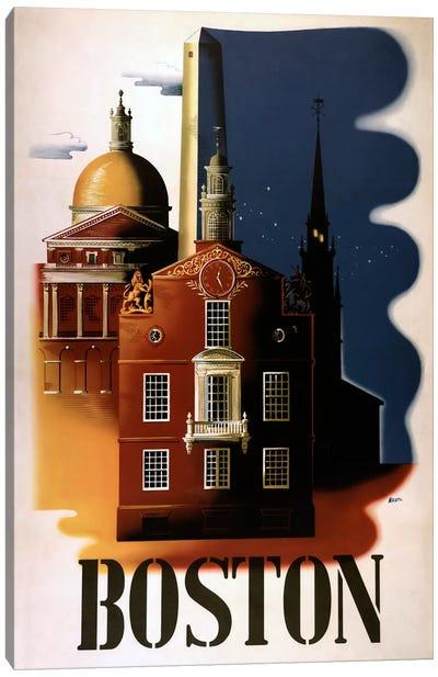 Boston Architecture Canvas Print #VAC776