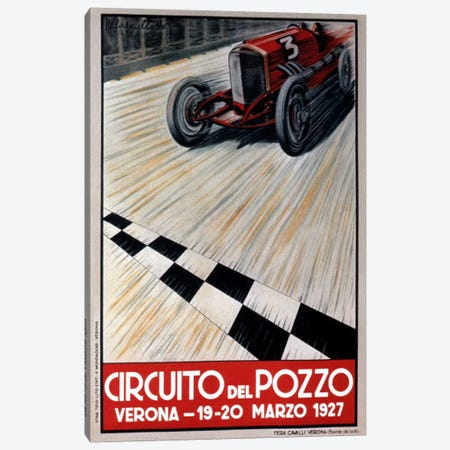 Circuit del Pozzo Italy Canvas Print #VAC802} by Vintage Apple Collection Canvas Art Print