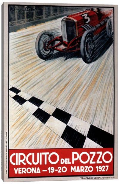 Circuit del Pozzo Italy Canvas Art Print
