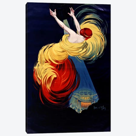 Danse Moscou Canvas Print #VAC805} by Vintage Apple Collection Canvas Artwork