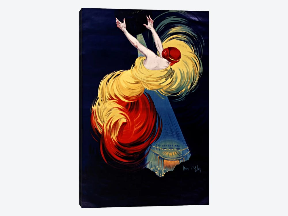 Danse Moscou by Vintage Apple Collection 1-piece Canvas Art