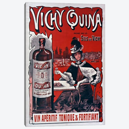 Vichy Quina Canvas Print #VAC822} by Vintage Apple Collection Canvas Art Print