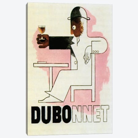 Dubonnet Canvas Print #VAC830} by Vintage Apple Collection Canvas Wall Art
