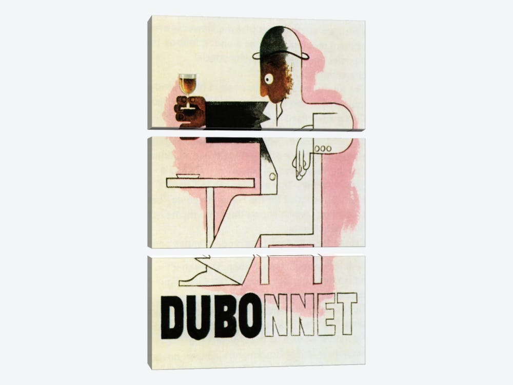 Dubonnet 3-piece Canvas Wall Art