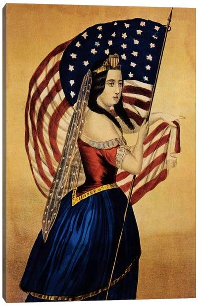 Flag Canvas Art Print