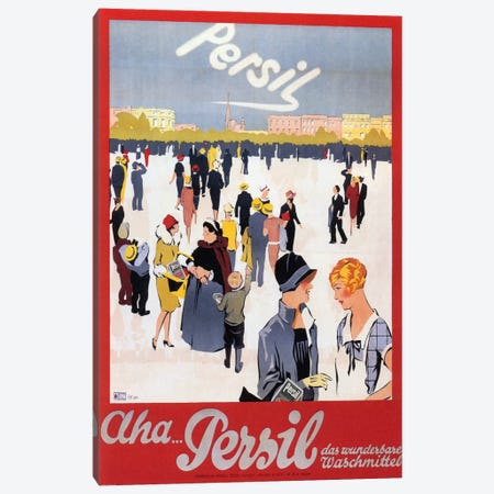 Persil Canvas Print #VAC843} by Vintage Apple Collection Canvas Print