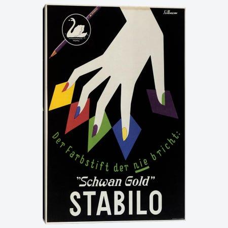 Stabilo Canvas Print #VAC849} by Vintage Apple Collection Canvas Art Print