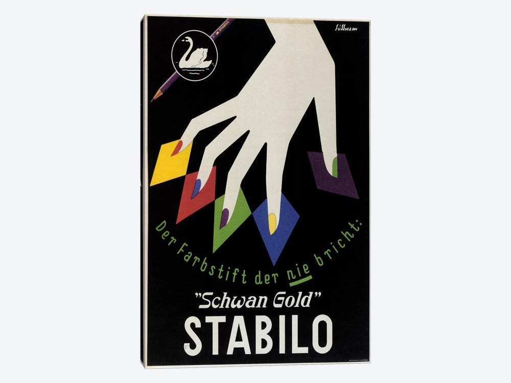 Stabilo by Vintage Apple Collection 1-piece Canvas Art