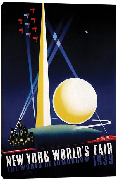 Worlds Fair Canvas Print #VAC853