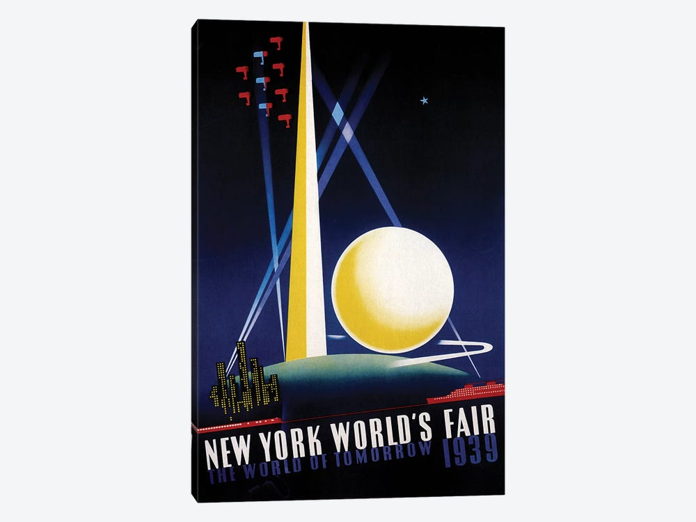 Worlds Fair by Vintage Apple Collection 1-piece Art Print