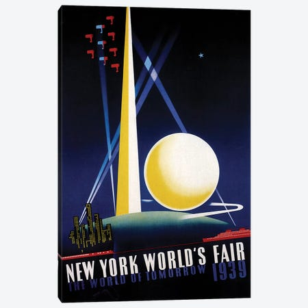 Worlds Fair Canvas Print #VAC853} by Vintage Apple Collection Canvas Artwork
