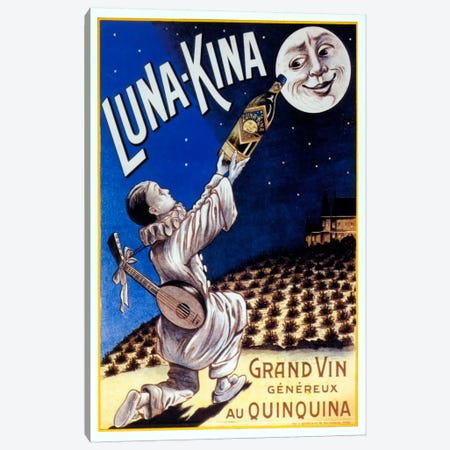 Lunakina Canvas Print #VAC913} by Vintage Apple Collection Canvas Print