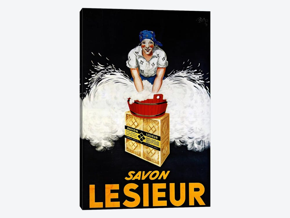 Savon Lesieur by Vintage Apple Collection 1-piece Art Print