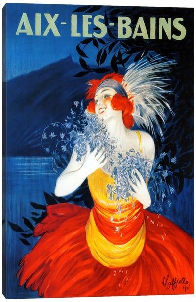 Aix Les Bains Canvas Art Print