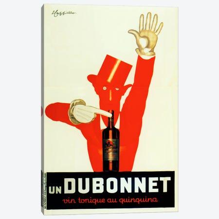 Cappiello Dubonnet Quinquina Vintonique Canvas Print #VAC982} by Vintage Apple Collection Canvas Art