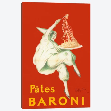 Cappiello Pates Baroni Canvas Print #VAC994} by Vintage Apple Collection Canvas Artwork