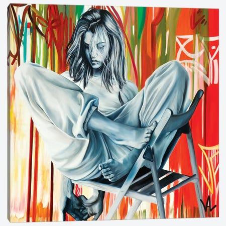 Sunday Clothes Canvas Print #VAE19} by Val Escoubet Canvas Art