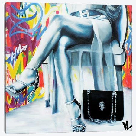 Basic Fashion Canvas Print #VAE1} by Val Escoubet Canvas Artwork