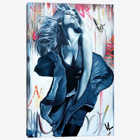 The Pretty Dress Canvas Print #VAE23} by Val Escoubet Canvas Art Print