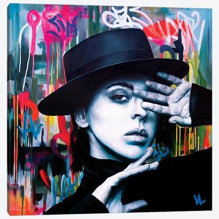 The Spanish Girl Canvas Print #VAE24} by Val Escoubet Canvas Art