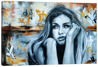 Thoughtful Mood Canvas Art Print