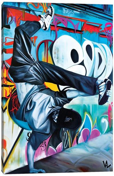 Urban Handstand Canvas Art Print
