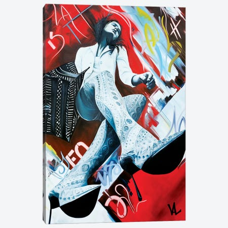 Urban Perspectives Canvas Print #VAE33} by Val Escoubet Canvas Artwork