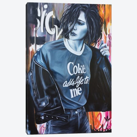 Go To Back Canvas Print #VAE38} by Val Escoubet Canvas Art