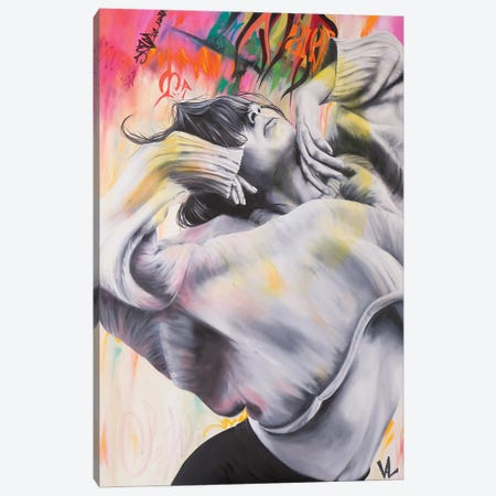La Caresse Du Vent Canvas Print #VAE41} by Val Escoubet Canvas Art Print