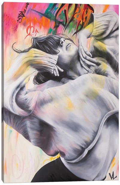 La Caresse Du Vent Canvas Art Print