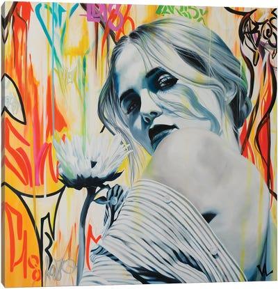 Je T'Aime, Un Peu, Beaucoup ... Canvas Art Print