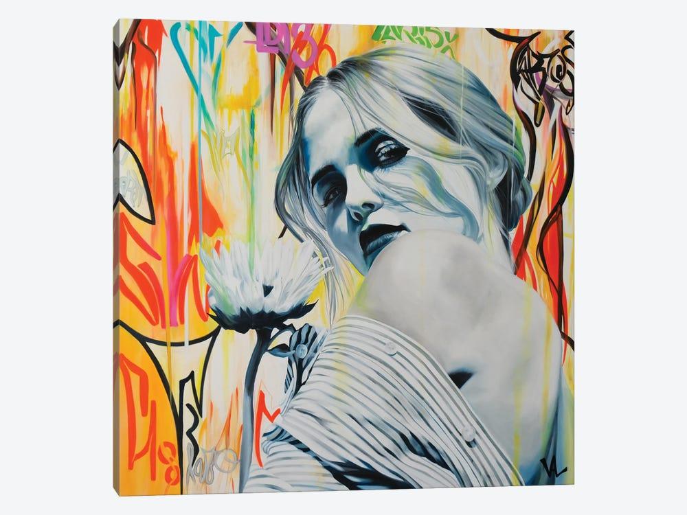 Je T'Aime, Un Peu, Beaucoup ... by Val Escoubet 1-piece Art Print