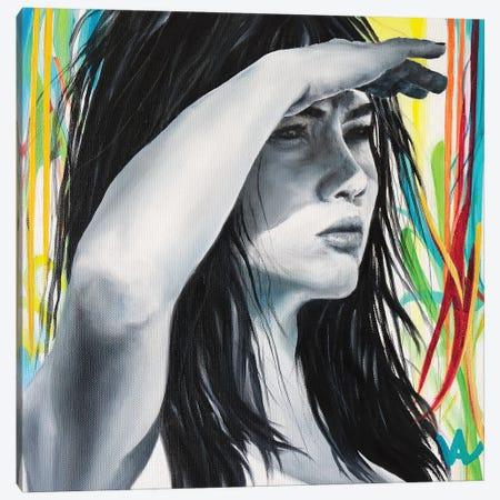 So Far Away Canvas Print #VAE43} by Val Escoubet Art Print