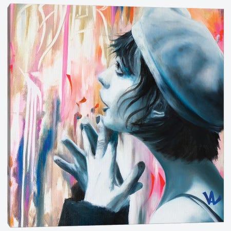 Au Pays Des Merveilles Canvas Print #VAE44} by Val Escoubet Canvas Artwork