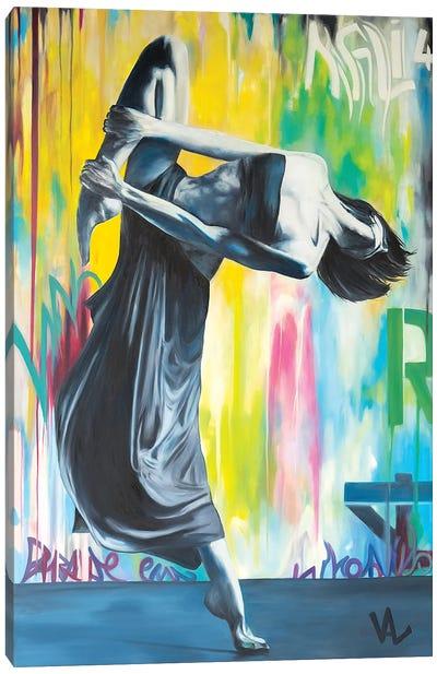 Entrez Dans La Danse ! Canvas Art Print