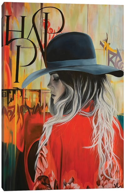 Red Appeal Canvas Art Print