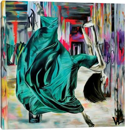 Colors And Danse Canvas Art Print