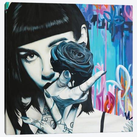 Iconic girl Canvas Print #VAE63} by Val Escoubet Art Print