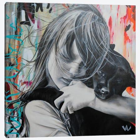 Un Peu De Douceur Canvas Print #VAE64} by Val Escoubet Canvas Wall Art