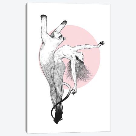 She Is A Panther Canvas Print #VAK120} by Valeriya Korenkova Art Print