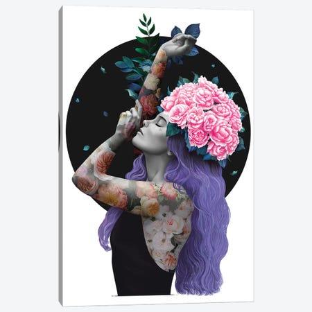 Just Breathe Canvas Print #VAK16} by Valeriya Korenkova Canvas Print