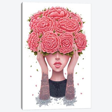 I Don't Hear Canvas Print #VAK23} by Valeriya Korenkova Canvas Art Print