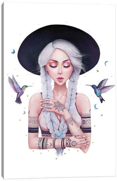 Boho Girl II Canvas Art Print