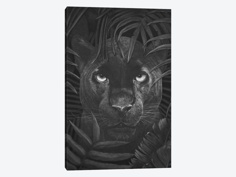 Panther In Jungle by Valeriya Korenkova 1-piece Canvas Art Print