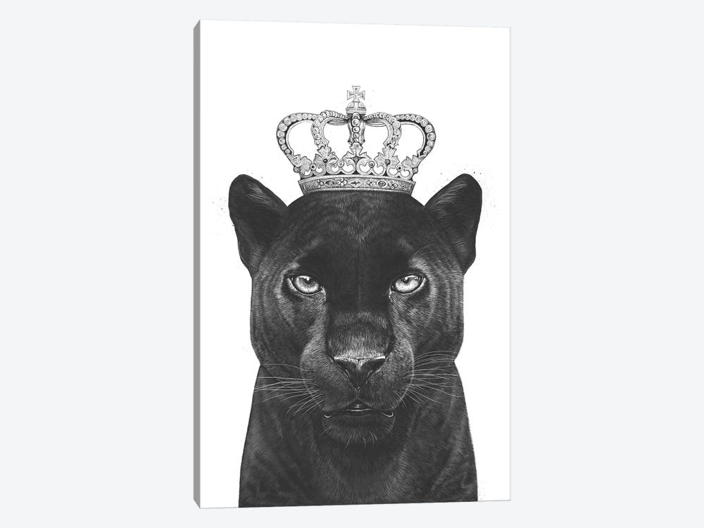 The King Panther by Valeriya Korenkova 1-piece Canvas Art