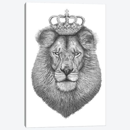The Lion King Canvas Print #VAK65} by Valeriya Korenkova Canvas Artwork