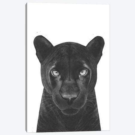 The Panther Girl Canvas Print #VAK69} by Valeriya Korenkova Art Print