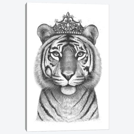 The Tigress Queen Canvas Print #VAK76} by Valeriya Korenkova Canvas Art Print