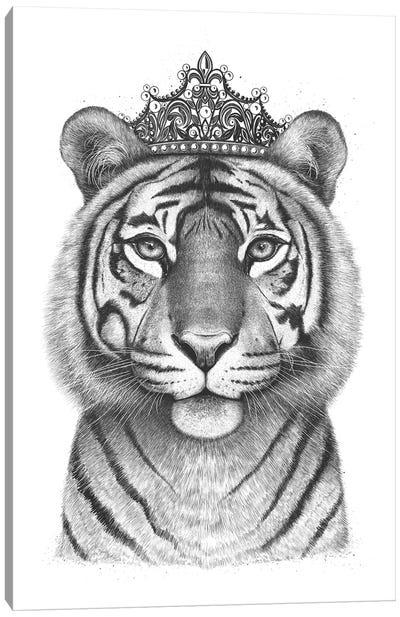 The Tigress Queen Canvas Art Print
